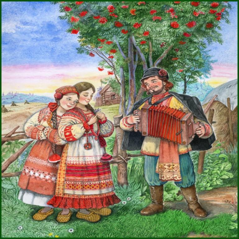 Фольклорные (взрослые) ансамбли