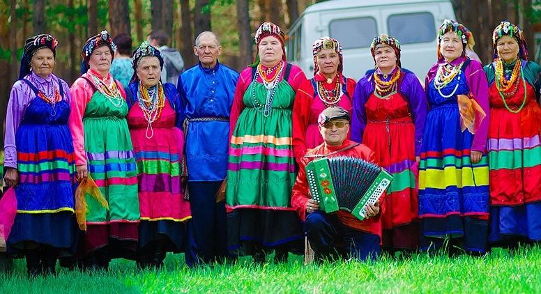 Народный семейский хор «Лучинушка» п. Куйтун Республика Бурятия