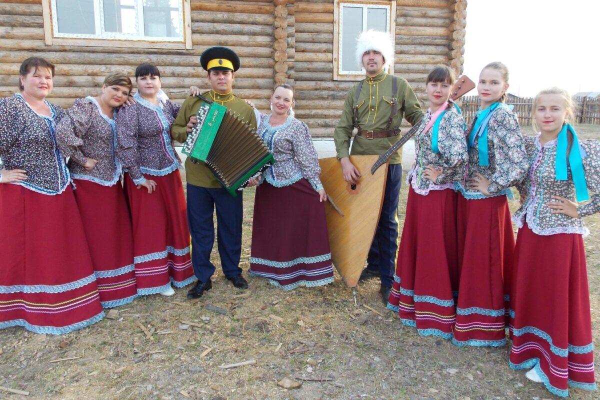 Народный ансамбль «Славянка», с. Линево-Озеро, Хилокский район, Забайкальский край