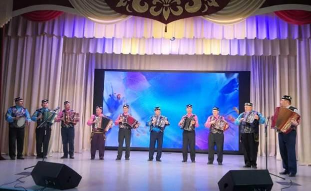 Народный ансамбль гармонистов  «Баламишкин», Кукморский район, Республика Татарстан