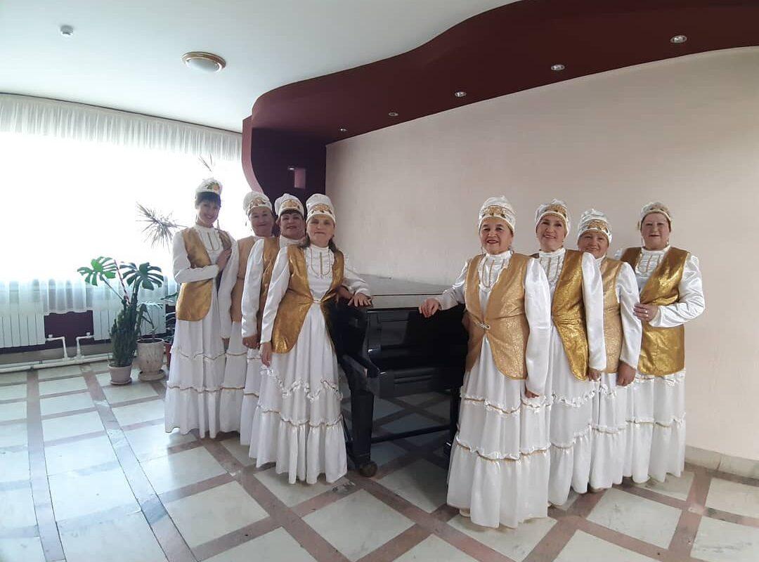 Вокальный ансамбль татарской песни  «Ляйсан», Кукморский район, Республика Татарстан