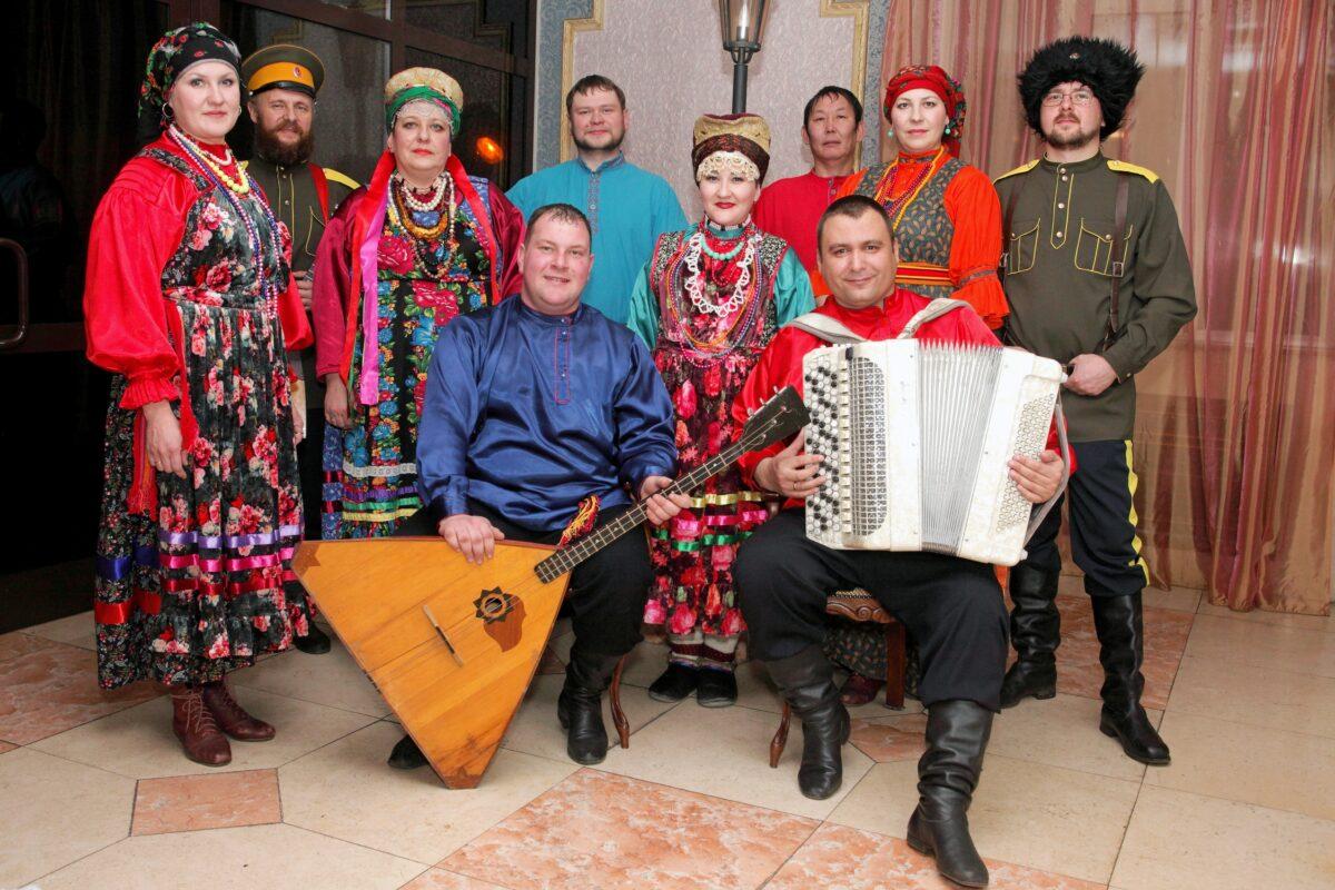 Муниципальный ансамбль «Кудёсы», с. Красный Чикой, Красночикойский район, Забайкальский край